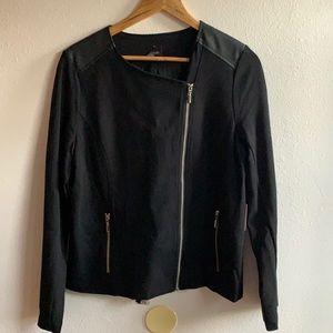 NWT Rafaella black Zippered Jacket Sz12